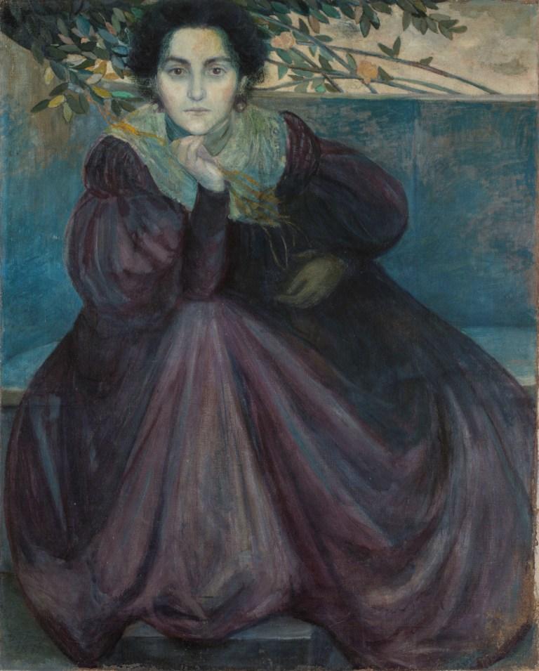 Giovanni Prini, Ritratto di Orazia Belsito, 1899