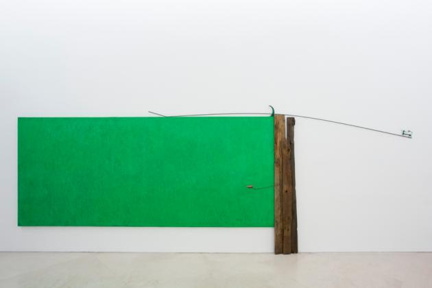 Giuseppe Maraniello, Il diavolo è verde, 1979. Collezione dell'artista, Milano