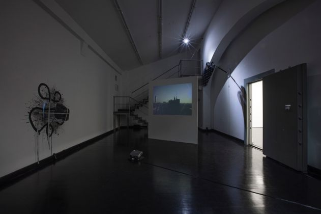 Gregory Bae, 45° 28' 0'' N, 9° 11' 0'' E. Exhibition view at FL Gallery, Milano 2017