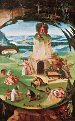 Hieronymus Bosch, I sette peccati capitali, 1500-15. Geneva Fine Arts Foundation, Ginevra