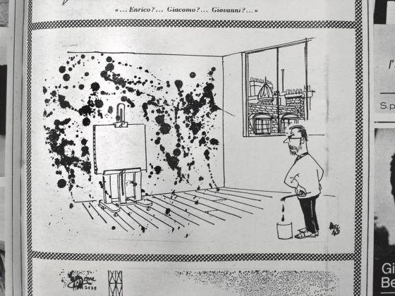 """Holland, Senza titolo, in """"L'Europeo"""", 8 novembre 1964"""
