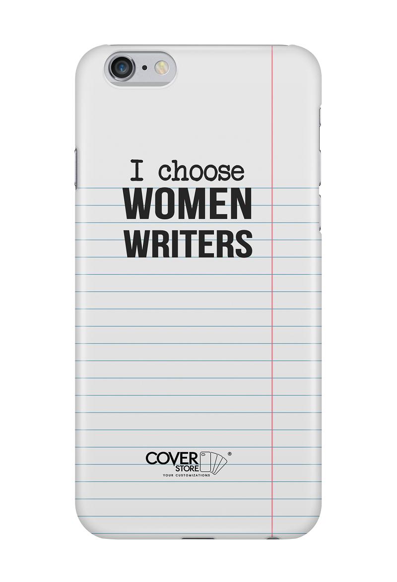 I Choose Women Writers - cover iPhone