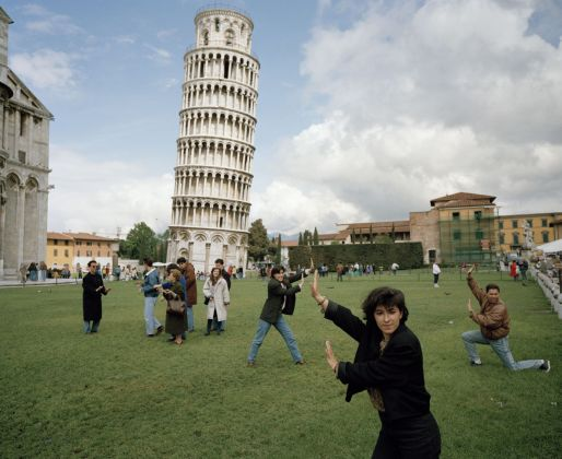 ITALY. Pisa. The Leaning Tower of Pisa. From 'Small World'. 1990 © Martin Parr Magnum Photos