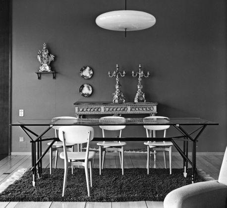 Ico Parisi, Tavolo con struttura in ferro, 1955