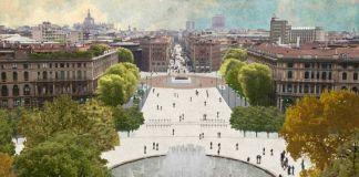 Il progetto Genuizzi Banal per Piazza Castello a Milano