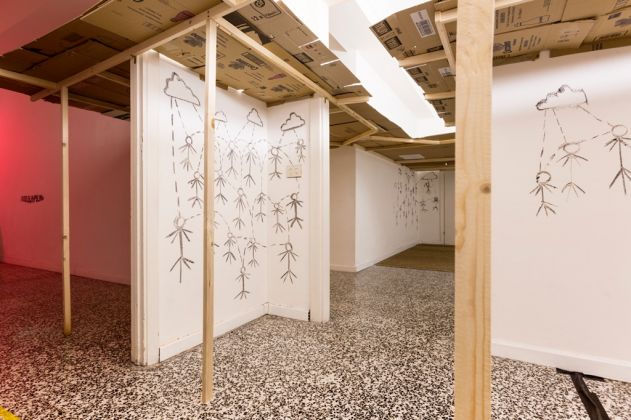Jack Fisher, I could set all of you on fire and abso-f--king-lutely nothing would change. Exhibition view at t-space, Milano 2017