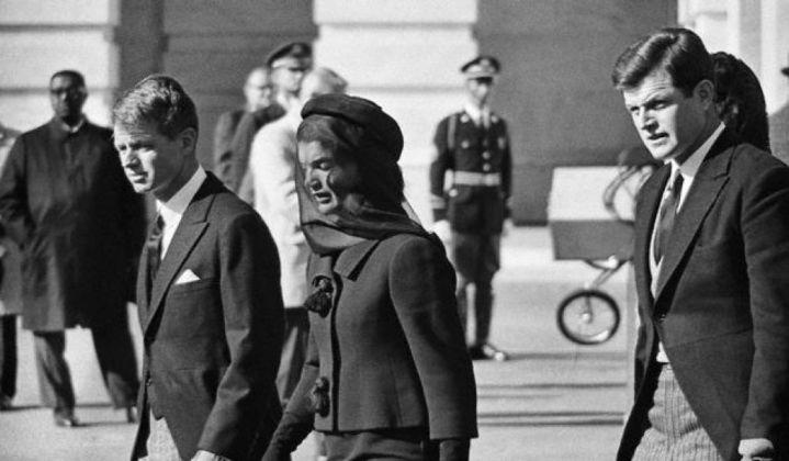Jackie Kennedy al funerale del marito John Fitzgerald