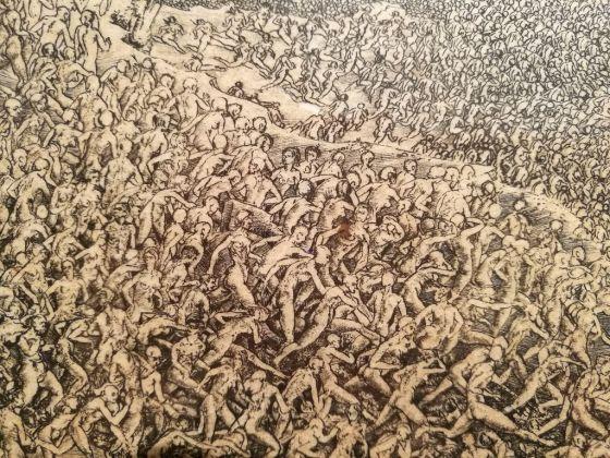 Jean-Pierre Velly, Le Massacre des Innocents (particolare), 1970-71, acquaforte e bulino