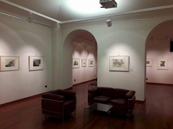 Jean-Pierre Velly, Un point c'est tout. Exhibition view at Spazio Don Chisciotte, Torino 2017