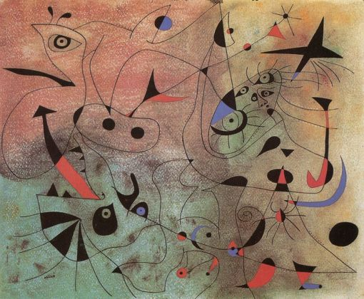 Joan Mirò, serie constellation-the-morning-star, 1939