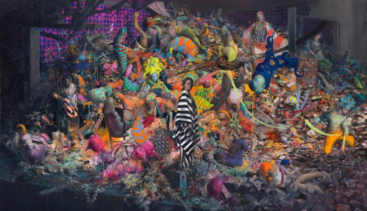 Jonas Burgert, ihr Schön, 2016. Courtesy l'artista. Photo © Lepkowski Studios