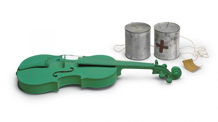 Joseph Beuys, Green Violin, 1974