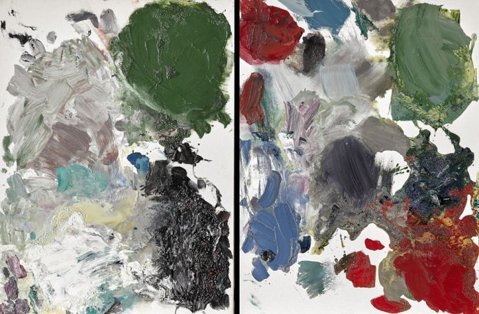 Josh Smith, Untitled Palette Painting, 2005