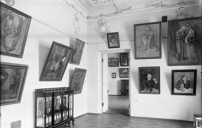 La sala di Picasso al Mosca, Museo di Stato delle Belle Arti