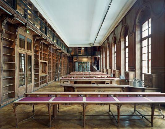 La sala lettura della Bibliothèque Nationale de France (foto Marchand Meffre)