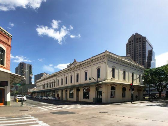 L'edificio della galleria Ravizza Brownfield di Honolulu