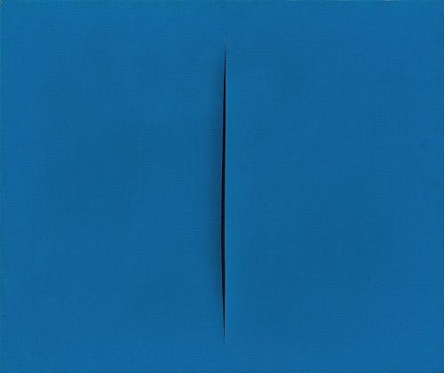 Lucio Fontana, Concetto spaziale, Attesa, 1967-68