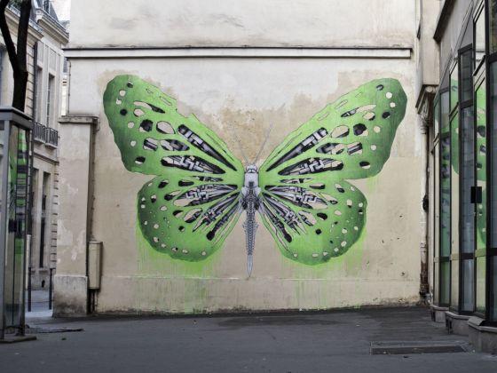Un murale di Ludo a Parigi