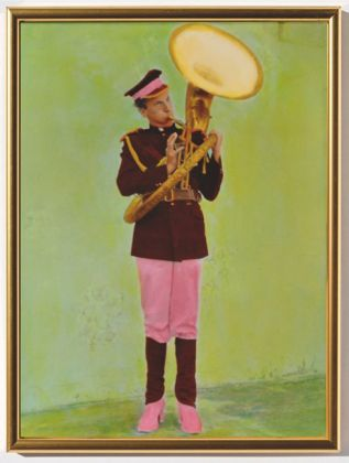 Luigi Ontani, Indian Band (I, II, III), 1977. Courtesy l'artista