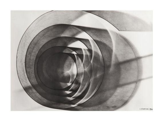 Luigi Veronesi, Senza Titolo, 1936, fotogramma, 26,5x37 cm. Courtesy Galleria 10 A.M. Art, Milano