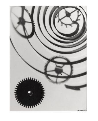 Luigi Veronesi, Senza Titolo, 1937, fotogramma, 33x24,5 cm. Courtesy Galleria 10 A.M. Art, Milano