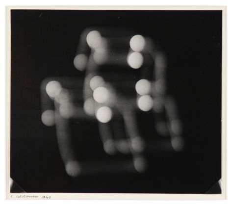 Luigi Veronesi, Senza Titolo, 1940, fotogramma, 16x18,5 cm. Courtesy Galleria 10 A.M. Art, Milano
