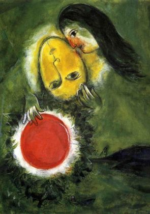 Marc Chagall, Paysage Vert, 1948