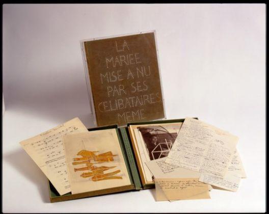 Marcel Duchamp, Boîte verte, 1934. Collezione privata