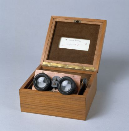 Marcel Duchamp, Frames from projected stereoscopic film, 1920-1973. Collezione privata