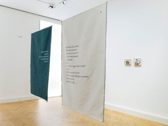 Mario Milizia, Controcuore. Exhibition view at Viasaterna, Milano 2017