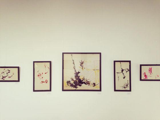 Marion Greenstone, #Composition#. Exhibition view at Spazio Contemporaneo Agorà, Palermo 2017. Photo Iolanda Carollo