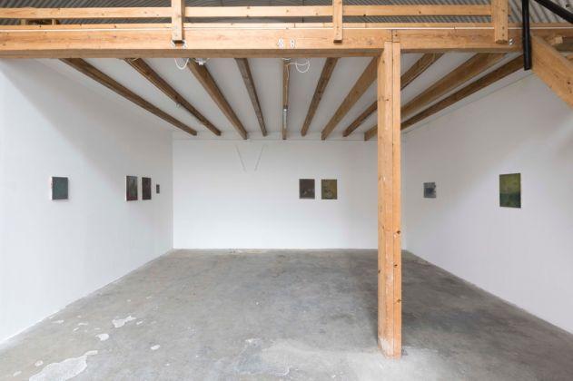Marta Ravasi, Violette di Marte. Exhibition view at Fanta Spazio, Milano 2017. Courtesy of the Artist & Fanta Spazio, Milano. Photo Roberto Marossi