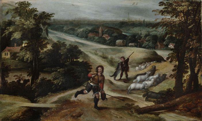 Marten van Cleve, Parabola del buon pastore, 1578-80 ca.