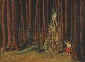 Meret Oppenheim, Die Waldfrau, 1939. Collezione privata