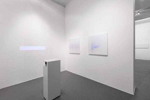 Minus.log, Untitled (line). Exhibition view at Galleria Bianconi, Milano 2017