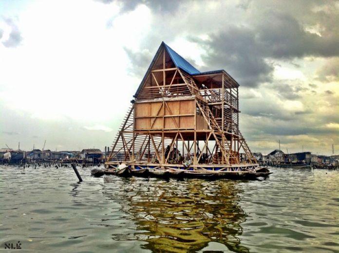 NLÉ, Makoko Floating School, Lagos