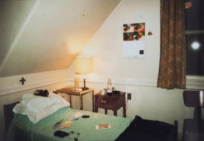 Nan Goldin, My Room In Halfway House, Belmont 1983