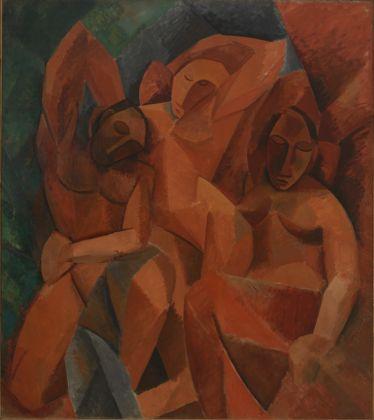 Pablo Picasso, Trois femmes. Esquisse du tableau, 1908. Mosca, Museo di Stato delle Belle Arti