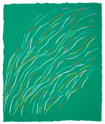 Piero Dorazio, Composizione in verde