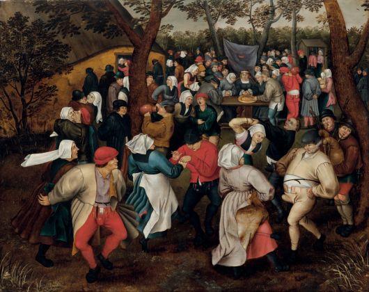 Pieter Brueghel il Giovane, Danza nuziale all'aperto, 1610 ca.. Collezione privata, USA