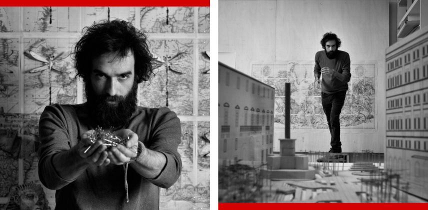 Pietro Ruffo, pins, Roma, Marzo 2015 © Giovanni De Angelis da ART REWIND #1 project