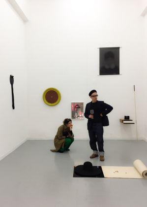 Pino Pipoli, Capsule. Exhibition view at Galleria Doppelgaenger, Bari 2017. Photo Simone Esposito