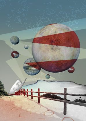 Poster Trappist-1 by Amanda J. Smith for Nasa