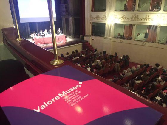 Presentazione a Firenze del progetto ValoreMuseo. Ph. Twitter