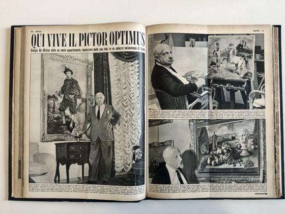 """Qui vive il pictor optimus, in """"Gente"""", 21 maggio 1958"""