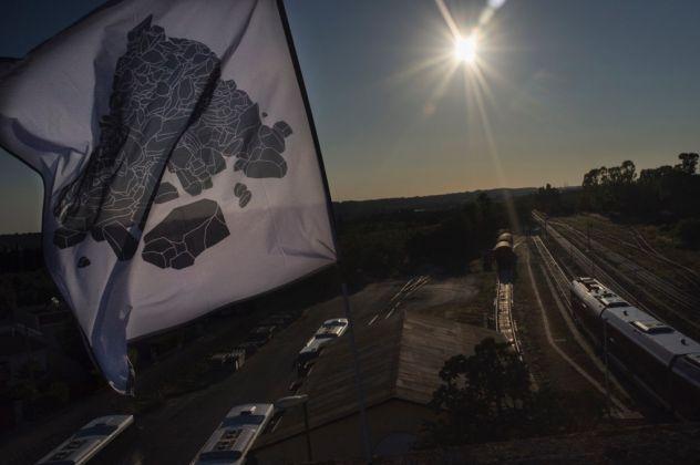 Ramdom. Andreco, Flag. Photo Yacine Benseddik
