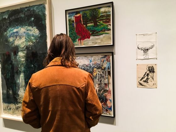 Raymond Pettibon, A Pen of All Work. New Museum, New York, 2017