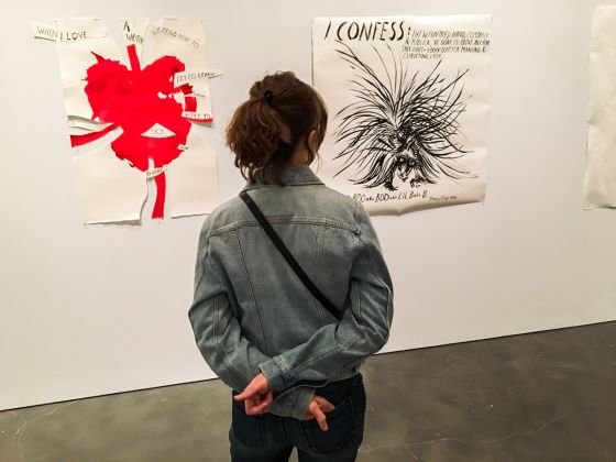 Raymond Pettibon, A Pen of All Work. New Museum, New York, 2017