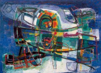 Renato Birolli, Ondulazione marina, 1955. Lissone, MAC-Museo d'Arte Contemporanea di Lissone
