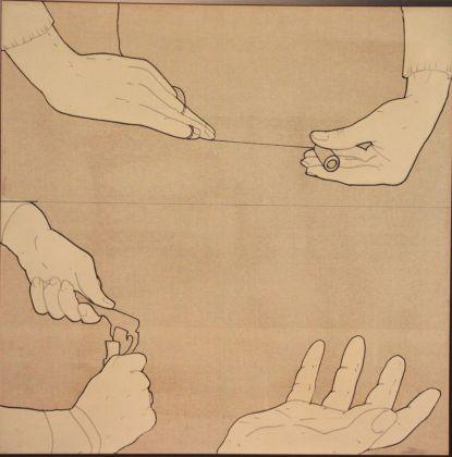 Renato Mambor, Il gesto delle mani, 1965